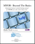 MYOB Beyond the Basics book